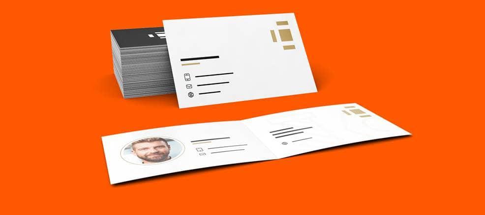 Visitenkarten Online Drucken Visitenkarten Design Saxoprint