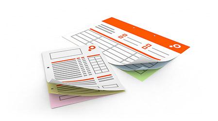 Durchschreibesätze Drucken Online Saxoprint